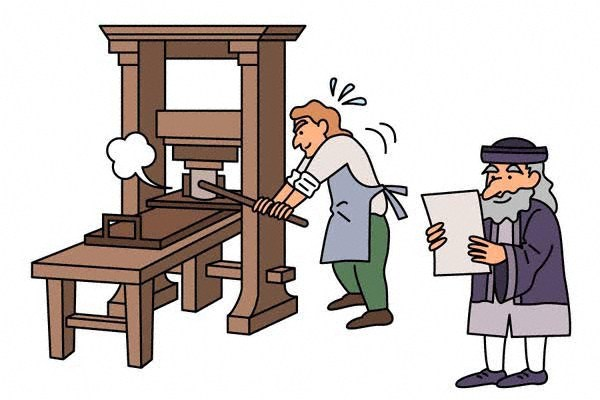 グーテンベルク 活版 印刷 機
